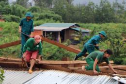 Ổn định cuộc sống của người dân Kon Tum sau lũ