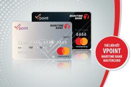 Hưởng mức tích điểm cao nhất thị trường với thẻ liên kết Vpoint -  Maritime Bank