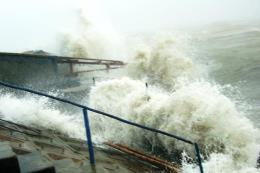 Trong 24 giờ tới, bão số 4 di chuyển theo hướng Đông