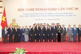 Cơ quan đại diện Việt Nam ở nước ngoài đẩy nhanh những cơ hội hợp tác
