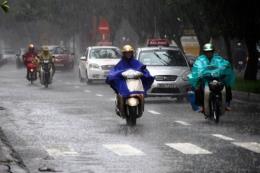 Bão số 4 gây mưa lớn tại Bắc Bộ từ 15 đến 17/8