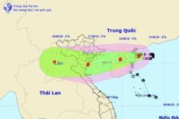 Bão số 4 đổi hướng, đe dọa các tỉnh từ Quảng Ninh - Nghệ An