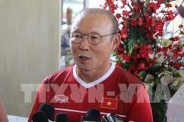 HLV Park Hang Seo tiết lộ nhiều thông tin trước trận Việt Nam gặp Nepal