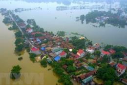 Từ ngày 17-18/8 sẽ có nguy cơ xảy ra ngập úng ở các tỉnh, thành phố