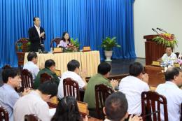 Chủ tịch nước Trần Đại Quang: Đưa An Giang tăng trưởng bằng mức trung bình của cả nước