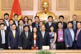 Thủ tướng mong trí thức Việt kiều chung tay xây dựng chính phủ điện tử