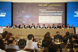 Triển lãm ô tô Việt Nam 2018 quy tụ 15 thương hiệu xe