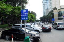 """Nhiều tài xế """"né"""" nộp phí đỗ xe lòng lề đường ở Tp. Hồ Chí Minh"""