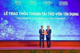 Vietcombank trao thỏa thuận tài trợ 27,1 nghìn tỷ đồng cho dự án của EVN
