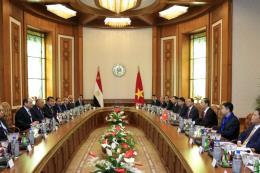Toàn văn Tuyên bố chung Việt Nam - Ai Cập