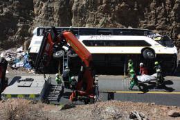 40 người thương vong do lật xe khách tại Nam Phi