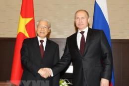 Tổng Bí thư  trả lời Hãng Thông tấn TASS về hợp tác Việt Nam - Liên bang Nga