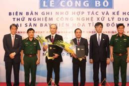 Triển khai thử nghiệm công nghệ xử lý dioxin tại Sân bay Biên Hòa, tỉnh Đồng Nai