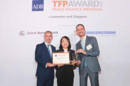 BIDV được vinh danh là đối tác hàng đầu của ADB tại Việt Nam