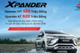 Mitsubishi chính thức công bố giá bán Xpander rẻ hơn 30 triệu đồng