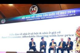 IREC 2018: Nhiều quốc gia quan tâm phát triển nhà ở giá thấp cho người dân