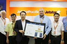 Hệ thống quản lý vận hành an toàn của Jetstar Pacific được công nhận trên toàn cầu