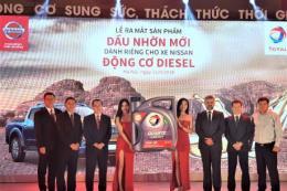 Ra mắt dầu Total Quartz Diesel dành riêng cho xe ô tô Nissan