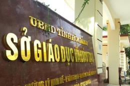 Bắt tạm giam Trưởng phòng Khảo thí thuộc Sở Giáo dục và Đào tạo tỉnh Hòa Bình
