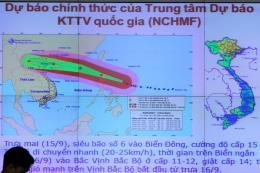 Tin mới nhất về bão số 6: Bắc Bộ mưa lớn diện rộng, biển động rất mạnh