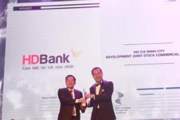HDBank được bình chọn là nơi làm việc tốt nhất châu Á