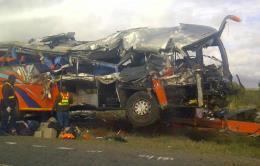 Tai nạn giao thông thảm khốc ở Nam Phi, hơn 50 người thương vong