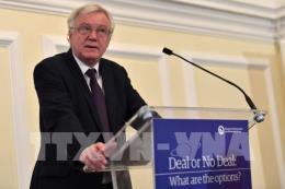 Cựu Bộ trưởng Brexit: Anh và EU nên điều chỉnh lại các đề xuất