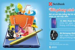 Ưu đãi lớn với thẻ tín dụng quốc tế SeABank