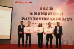 Chung kết hội thi kỹ thuật viên dịch vụ và nhân viên quan hệ khách hàng Honda