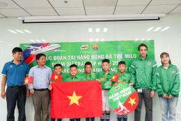 Nestlé Viet Nam đưa 5 tuyển thủ nhí sang giao lưu với CLB Barcelona