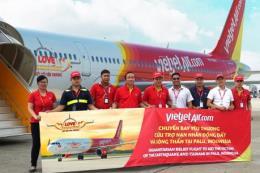 Vietjet Air cứu trợ khẩn cấp cho nạn nhân động đất - sóng thần tại Indonesia