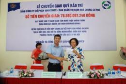 Vinaconex bàn giao 78,5 tỷ đồng quỹ bảo trì cho cư dân chung cư