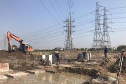 Sẽ hoàn thành dự án đường dây 220 kV Nam Sài Gòn – quận 8 trong tháng 10