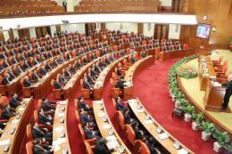 Thông cáo báo chí về phiên bế mạc Hội nghị Trung ương 8 khóa XII