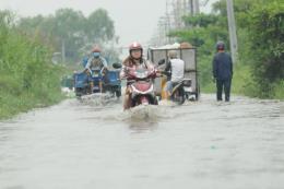Cảnh báo nguy cơ ngập lụt ở TP.HCM ngày 23-24/1