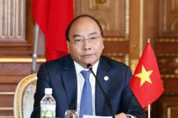 Thủ tướng dự họp báo chung  sau Hội nghị Cấp cao Hợp tác Mê Công – Nhật Bản lần thứ 10