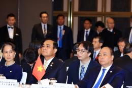 Thủ tướng phát biểu tại Hội nghị Cấp cao Hợp tác Mê Công - Nhật Bản lần thứ 10