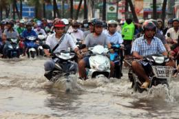 Trong những ngày tới, triều cường và ngập lụt khu vực Nam Bộ