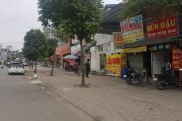 Xử lý nghiêm vi phạm đất đai, xây dựng dọc đường Nguyễn Hoàng, Hà Nội