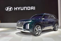 Hyundai sẽ ra mắt mẫu xe SUV cỡ lớn vào tháng tới