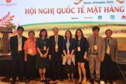 Hapro ký được 3 hợp đồng xuất khẩu gạo tại Hội nghị Gạo quốc tế 2018
