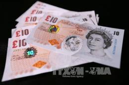 Tỷ giá đồng bảng Anh biến động trái chiều