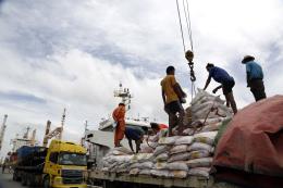 Myanmar xuất khẩu hơn 1 triệu tấn gạo trong giai đoạn chuyển tiếp của tài khóa mới