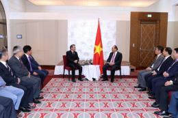 Thủ tướng tiếp đoàn Liên hiệp Hội người Việt Nam tại châu Âu