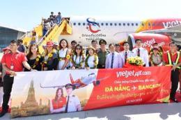 Vietjet Air đón chuyến bay khai trương Đà Nẵng - Bangkok