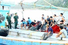 Nghệ An cứu nạn thành công tàu cá cùng 18 thuyền viên bị nạn trên biển