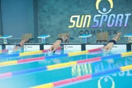 Khởi động giải bơi các nhóm tuổi mở rộng tranh cúp Sun Sport Complex