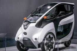 Toyota hé lộ mẫu xe ý tưởng i-ROAD tại triển lãm ô tô Việt Nam 2018