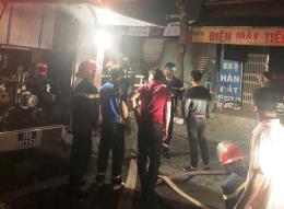 Thanh Hóa: Cháy cửa hàng điện thoại di động, thiệt hại hàng tỷ đồng