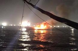 Vụ nổ tàu cá trên biển: Sức khoẻ các nạn nhân tạm thời ổn định